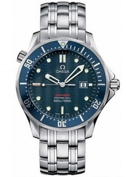 "Omega Men's 2221.80.00 Seamaster 300M ""James Bond"" Blue Dial Watch - 2013 Top 10 Ultimate Birthday Gifts for Men, by Rosie2010"
