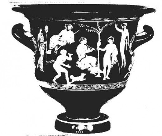 "Ode on a Grecian Urn by John Keats poses the question,  ""Beauty is truth, truth beauty,—that is all/ Ye know on earth, and all ye need to know"" (ln. 49-50)."