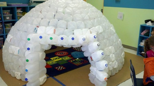 It's amazing what happens when you use you imagination when recycling.
