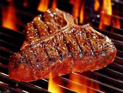 How many of you have already grilled out?? what was on the grill first for you?