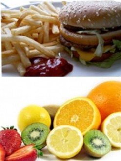 Difference between food and nutrition