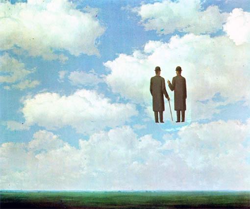 """""""Infinite Gratitude"""" by Rene Magritte"""