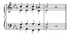 Part-writing Chords:  Minor Keys II