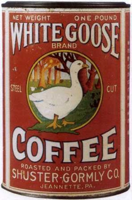 The hospital probably used this brand of coffee  maybe in the belief that a Wild Goose Chase for missing cups of coffee was really what the doctor had ordered