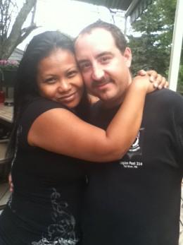 J.S.Matthew and his beautiful wife!