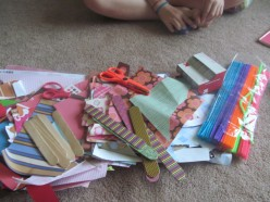 Crafts for Kids: Fun Things To Do With Leftover Scrapbook Paper