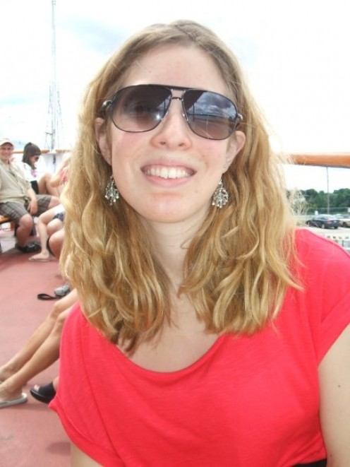 July 2009, before braces and before surgery.
