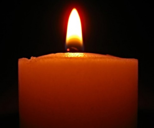 Hope fills the heart.  It's a lit candle.