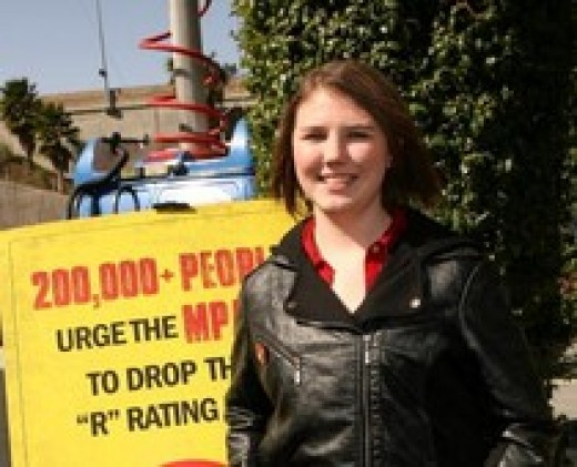 Katy Butler, who has experienced much bullying, started an online petition to get the R rating changed