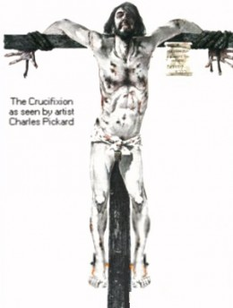 This is an accurate depiction of how crucifixion as done through thousands of years and is still practiced. Most people are tied to an apparatus so other tortures can be done without hindrance.