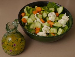 salad dressing with a zing