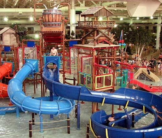 Water park of America - Indoor water park in Minnesota