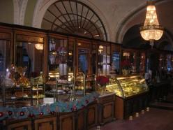 Cafe Gerbeaud Interior