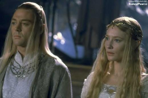 Galadriel and Celeborn