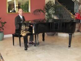Calming piano music