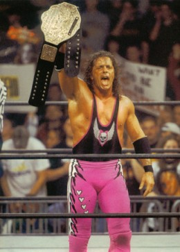 Bret Hart as wcw world champion