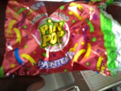 "What is the story behind the Pin Pop lollipop's 'Painter"" flavor?"