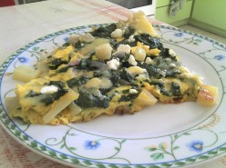 Fight Your Morning Munchies: Potato Spinach Frittata
