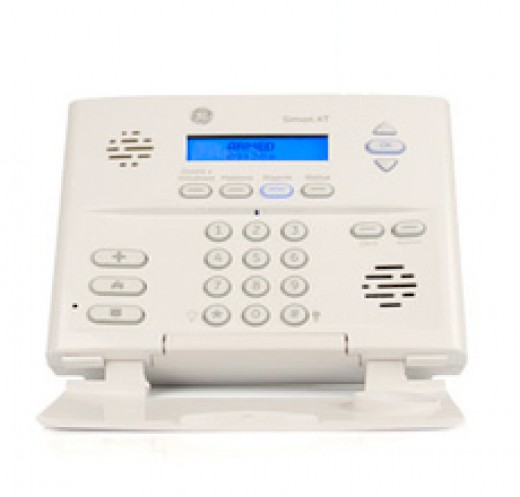 wireless home alarm system control panel