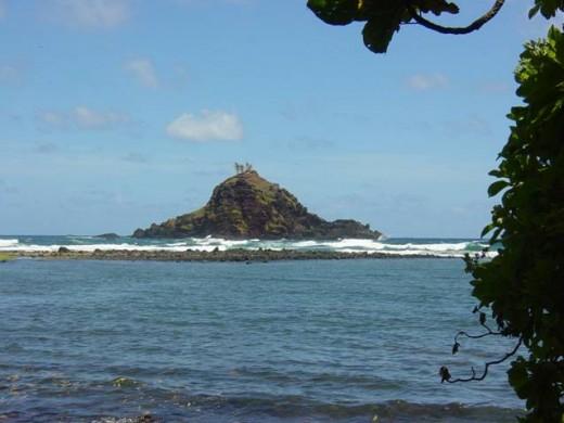 Islet off the coast of Maui