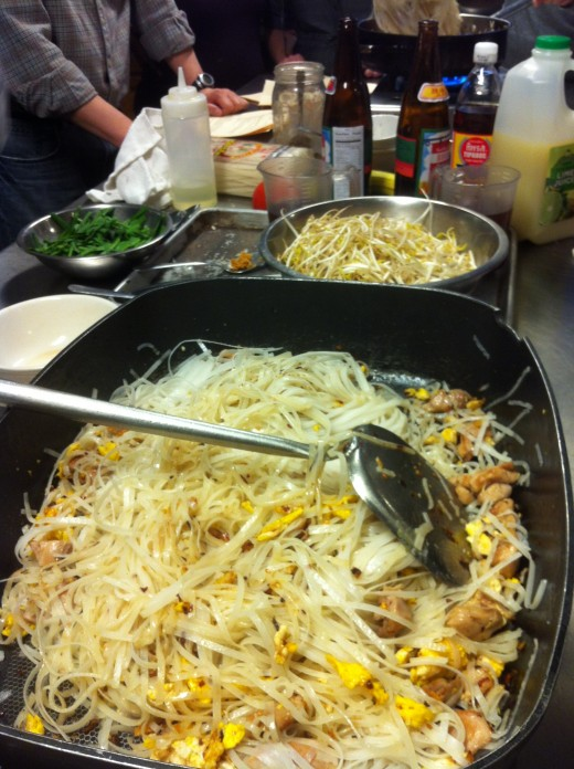 Noodles turning brown