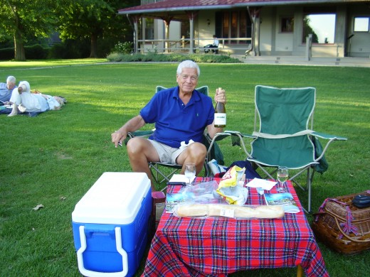 Planning a picnic with a loved one can be a fun surprise!