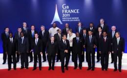 G8 2011 held in France