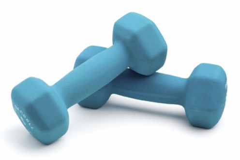 Lose Weight At Home Using Dumbbells