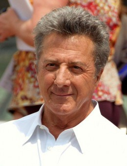 Star of the 1992 movie, Hero (Accidental Hero), Dustin Hoffman at the 2008 Cannes Film Festival.