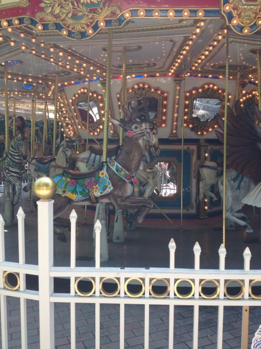 The Wildlife Carousel is a favorite with chlidren of all ages.