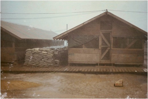 "The ""hooch"" in which  I lived in Chu Lai in 1967."