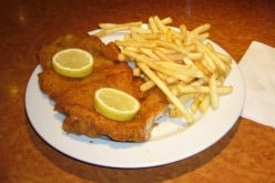 Schnitzel with French Fries