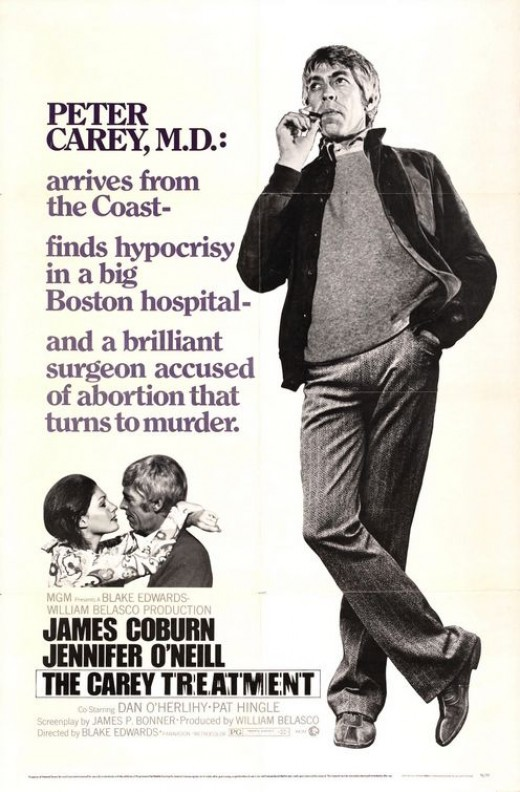 The Carey Treatment (1972) poster