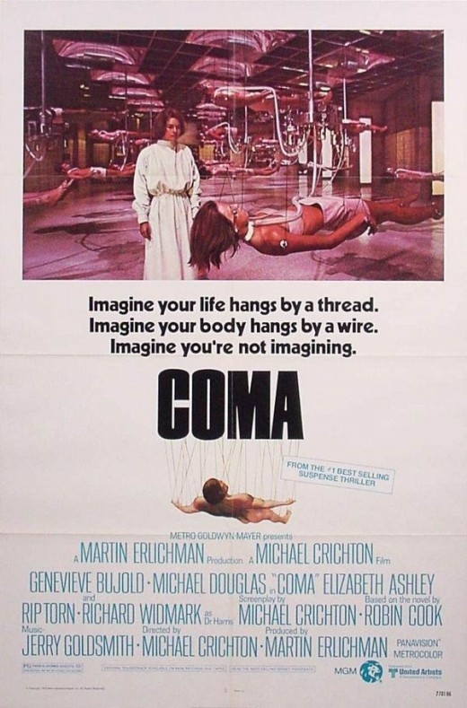 Coma (1978) poster