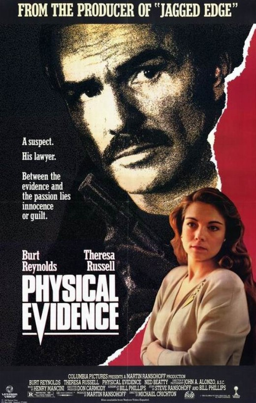 Physical Evidence (1979) poster