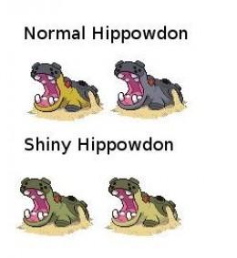 Shiny Hippowdon