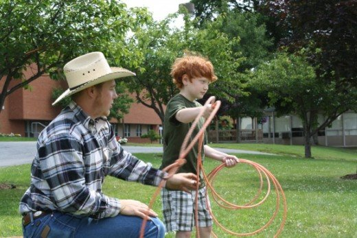 "Student Shows Kids ""The Ropes"" at Penn State DuBois"