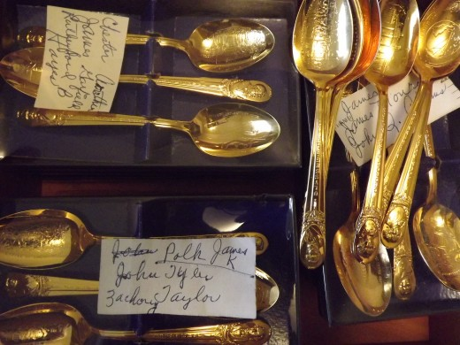 Presidential Spoons, at That