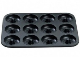 Doughnut Baking Pan. With this pan you can make perfect baked doughnuts every time.