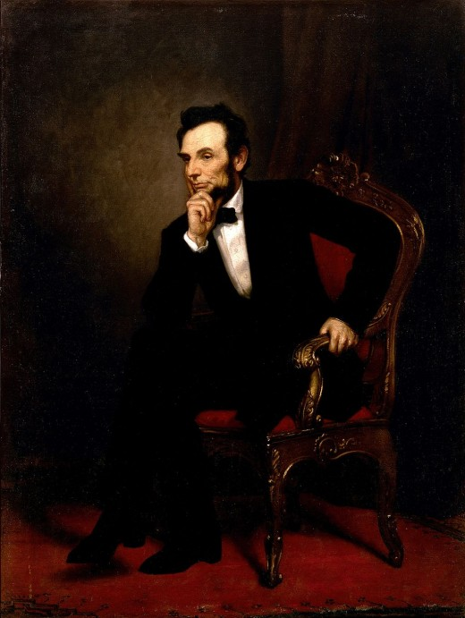 Abraham Lincoln's Official White House Portrait
