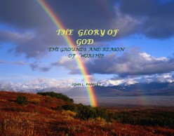 What is the Glory of God?