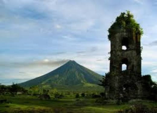 The beautiful Mount Mayon of Albay.