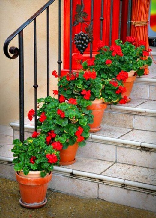 front step