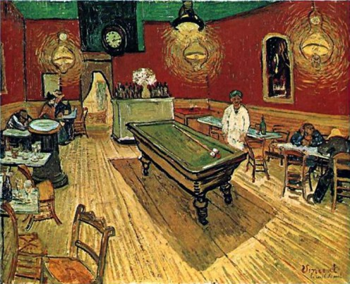 Night Cafe by Vincent Van Gogh