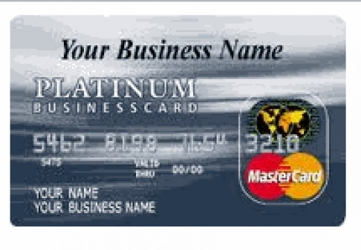 A Platinum Business Credit Card