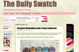 Layout of The Daily Swatch