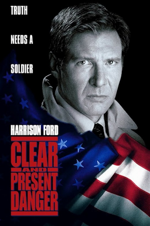 Clear and Present Danger (1994) poster