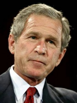 What positive thing did George W. Bush do for the USA?