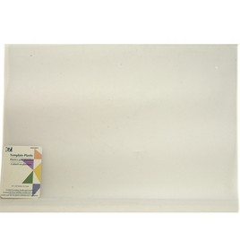 Mylar heat resistant plastic sheet to use for templates