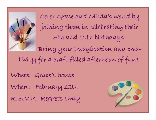 How To Write A Invitation Letter